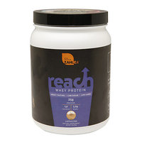 Zahler Reach Whey Protein, Advanced Formula for Lean Muscle Build, Great Tasting Cappuccino Flavor, 1LB