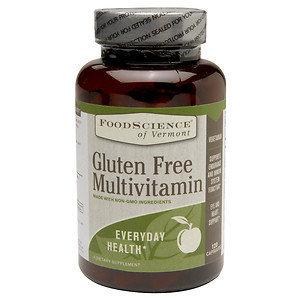 FoodScience of Vermont Gluten Free Multivitamin, 120 Capsules