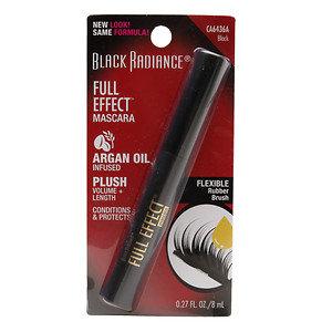 Black Radiance Full Effect Mascara, Black, .27 oz