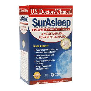 U.s. Doctor's Clinical U.S. Doctors' Clinical SurAsleep Sleep Aid, 30 ea