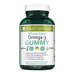 Natures Dynamics Nature's Dynamics - Body Boost Omega-3 Whole Food Gummy - 60 Gummies