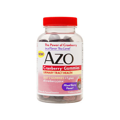 Azo - Cranberry Gummies Mixed Berry - 72 Gummies