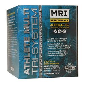MRI Athlete Multi Tri-System, Multiple Vitamins, All Day Nutrient, 1 Kit