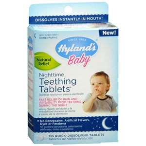 Hylands Inc Hyland's Baby Nighttime Teething Tablets, 135 count