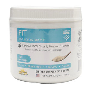 Mushroom Matrix - Fit Organic Mushroom Powder - 7.14 oz.