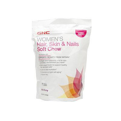 GNC Women's Hair, Skin & Nails Formula, Soft Chews, Acai Berry, 60 ea