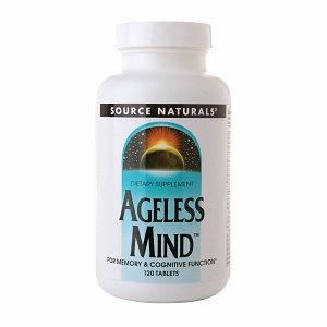 Source Naturals Ageless Mind, Tablets, 120 ea