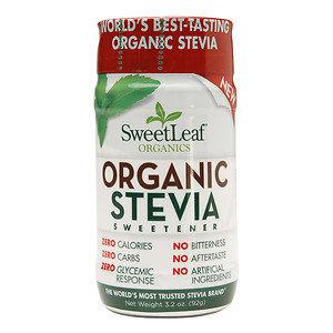 SweetLeaf Organic Stevia Sweetener Shaker, 3.2 oz