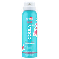 COOLA Sport Continuous Spray SPF 50, Guava Mango, Travel, 3.4 oz