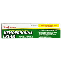 Walgreens Hemorrhoidal Pain Relief Cream, 1.8 oz