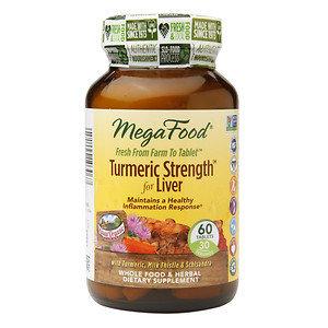 MegaFood Turmeric Strength for Liver, 60 ea