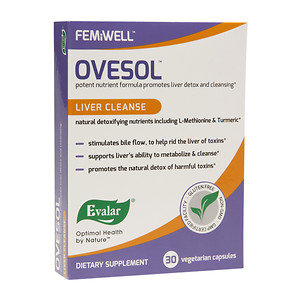 Evalar FEMiWELL Ovesol Liver Cleanse, 30 ea