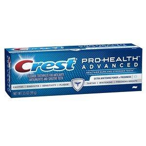Crest Pro-Health Advanced Extra Whitening Power Plus Freshness Toothpaste, 3.5 oz