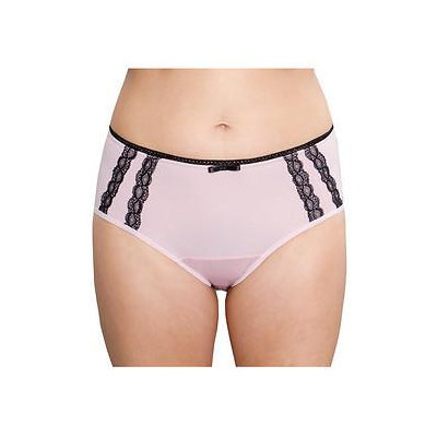 Fannypants Ladies Venice Incontinence Briefs, Blush Pink, Medium, 1 ea