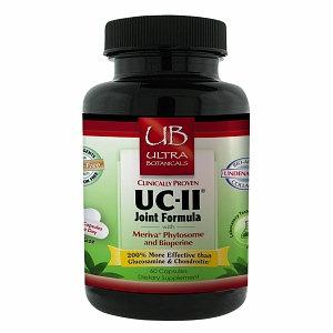 Ultra Botanicals UC-II Joint Formula, Capsules, 60 ea