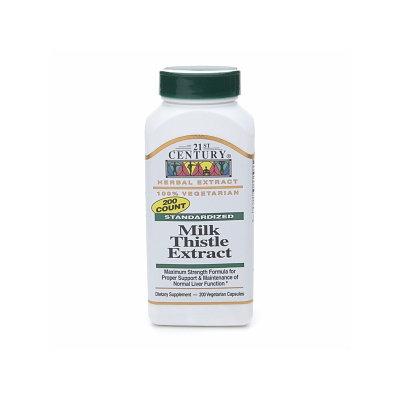 21st Century Milk Thistle Extract, Vegetarian Capsules
