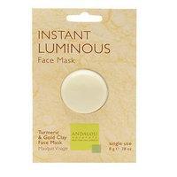Andalou Naturals Instant Luminous Clay Mask, 0.28 Oz