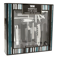 Trim Essentials for Him Personal Care Implements Set, 10 Piece, 1 ea