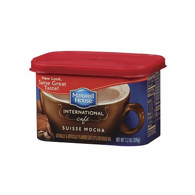 Maxwell House International Cafe Cafe-Style Beverage Mix, Suisse Mocha Cafe