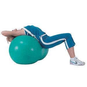 Sivan Health and Fitness Peanut Exercise Ball 50cm x 100cm, Green