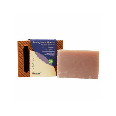 Himalaya Herbal Healthcare Bar Soap Refreshing Lavender and Rosemary - 4.41 oz