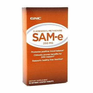 Miscellaneous GNC SAM-e 200 mg, Tablets, 30 ea