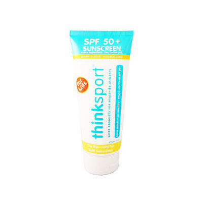 thinksport Kids Safe Sunscreen SPF 50+, Papaya, 6 oz