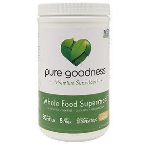 Pure Goodness Whole Food Supermeal, Vanilla, 16 oz