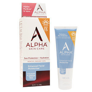 Alpha Skin Care Enhanced Facial Moisturizer SPF 15, 1 oz