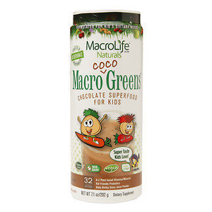 MacroLife Naturals Inc. Macro Coco Greens 32 Day - 7.1 Ounces Powder - Other Green / Super Foods