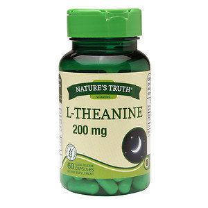 Nature's Truth L-Theanine 200mg, 60 ea