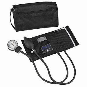 Mabis 01-160-021 MatchMates Aneroid Sphygmomanometer Kit - Black