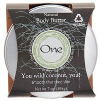 One Natural Body Butter You Wild Coconut, You!