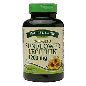 Nature's Truth Non-GMO Sunflower Lecithin 1200mg, 90 ea