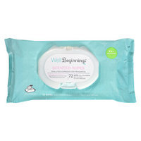 Well Beginnings Softpack Wipes, Scented, 72 ea