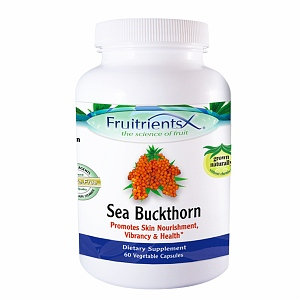 FruitrientsX - Sea Buckthorn - 60 Vegetarian Capsules