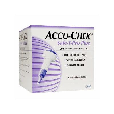 Accu Chek Accu-Chek Safe-T-Pro Lancets, 200 ea