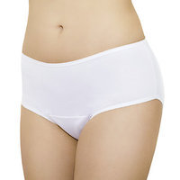 Fannypants Ladies Freedom Plus Incontinence Briefs, White, Large, 1 ea