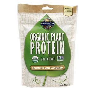 Organic Plant Protein Natural Garden of Life 8.0 oz (226 g) Powder