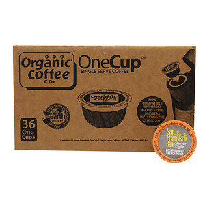 San Francisco Bay Coffee Decaf One Cup for Keurig K-Cup Brewers, French Roast, 36ct