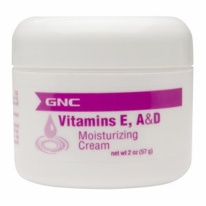 Value Cosmetics GNC Vitamins E, A & D Moisturizing Cream