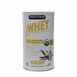 Biochem 100% Whey Protein Powder, Vanilla, 12.7 oz