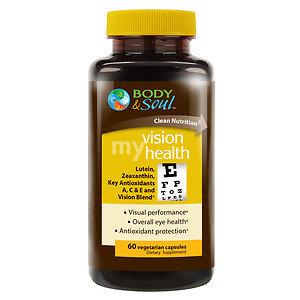Body & Soul My Vision Health, 60 ea