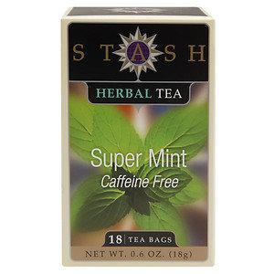 Stash Tea TEA, HRB, SUPER MINT, (Pack of 6)
