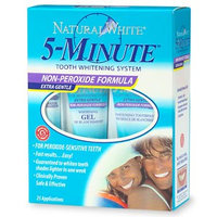 Natural White 5-Minute Tooth Whitening System, Non-Peroxide Formula