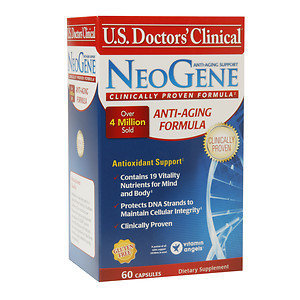 U.s. Doctor's Clinical U.S. Doctors' Clinical NeoGene Anti-Aging Support, 60 ea