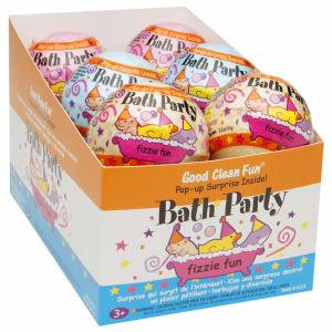 Smith & Vandiver Good Clean Fun, Bath Party Fizzie Fun Assortment, 12 pack