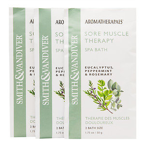 Aromatherapaes Bath Salt Soak Packets, 3 pk, Sore Muscle, 1 ea