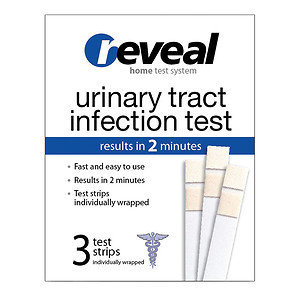 reveal Urinary Tract Infection Test, 3 ea