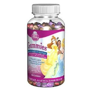 Disney Kids Princess Multivitamin Gummies - 1 ct.